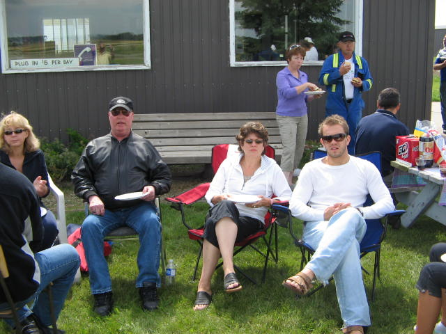 2007, BBQ at Olds/Didsbury Airport, Aug 18th